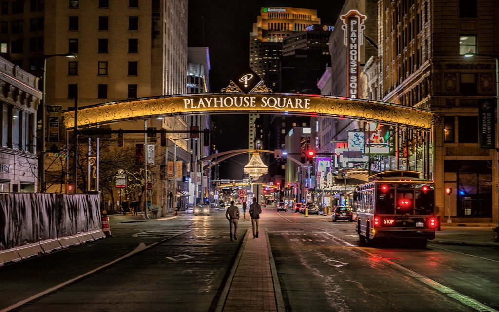 Playhouse Square Cleveland Ohio