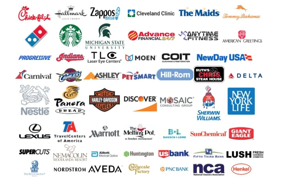Past Brands in attendance