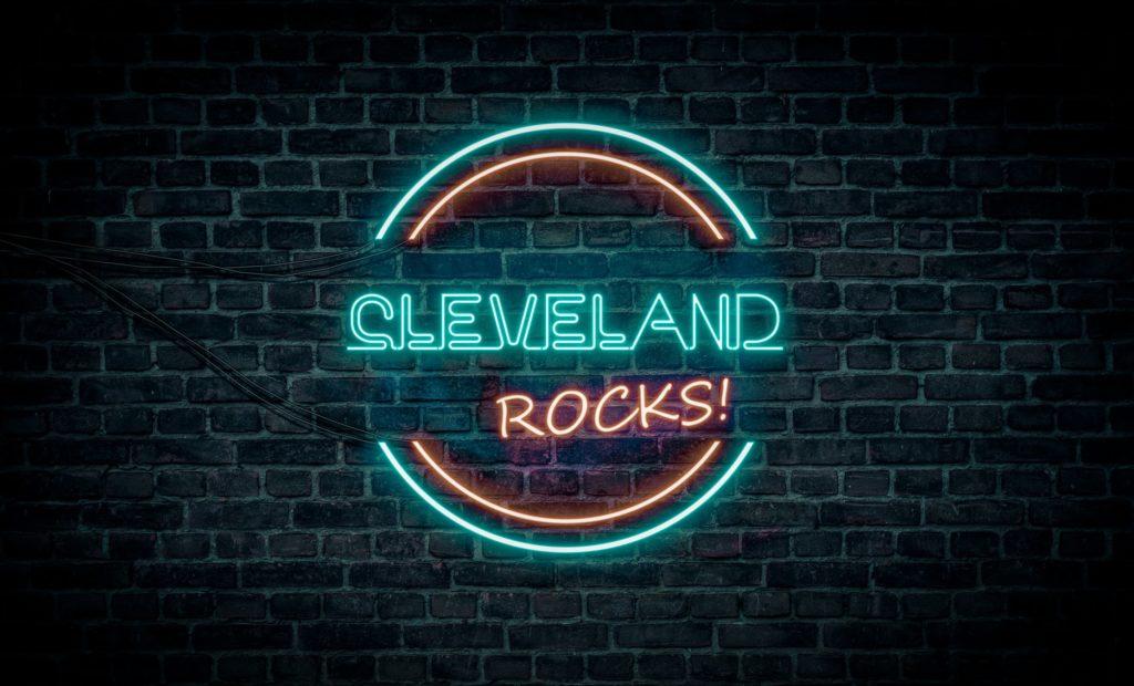 Cleveland Rocks! Sign